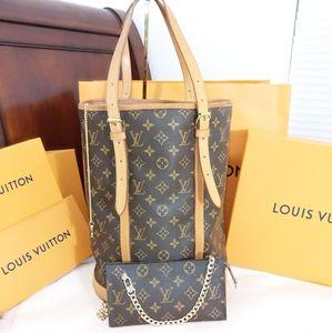 Bucket gm w/ pouch/crossbody Louis Vuitton